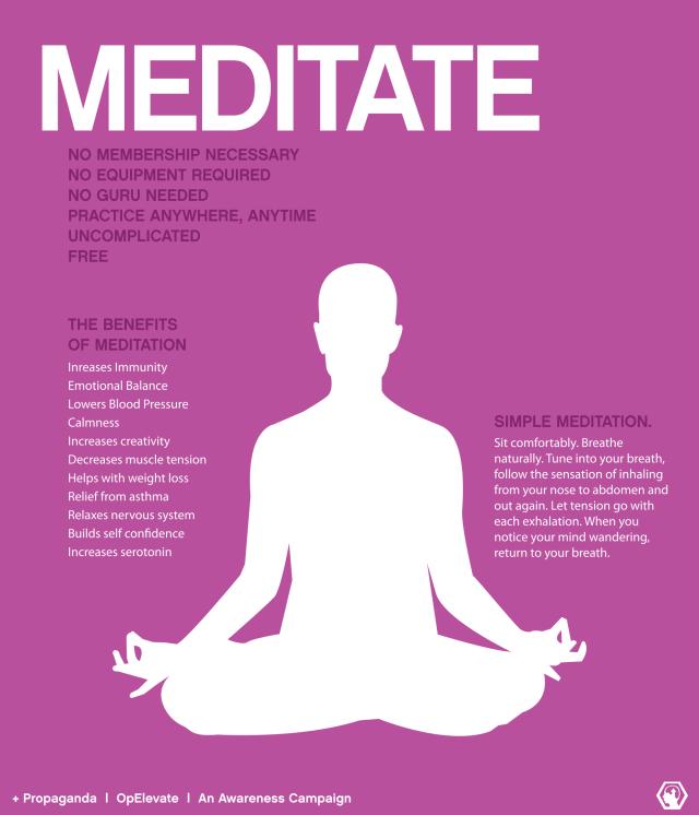 Meditate PMT PMS